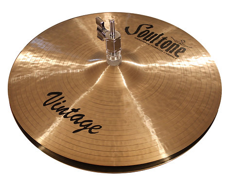Soultone Vintage Hi-Hat Cymbals Top View