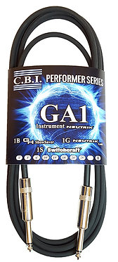 G&H Show Saver CBI Guitar Cable Package