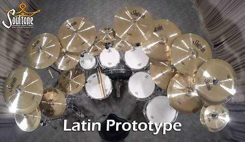 Soultone Latin Prototype Cymbals - All Sizes