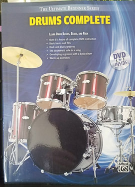 Ultimate Beginner Series: Drums Complete Cover wCD