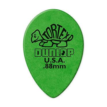 Dunlop 423RTortex Small Teardrop Guitar Pick 0,88mm FrontView