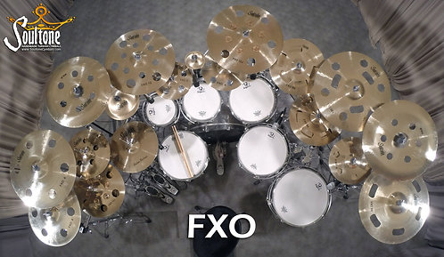 Soultone Cymbals - FXO  Series All Sizes Top View