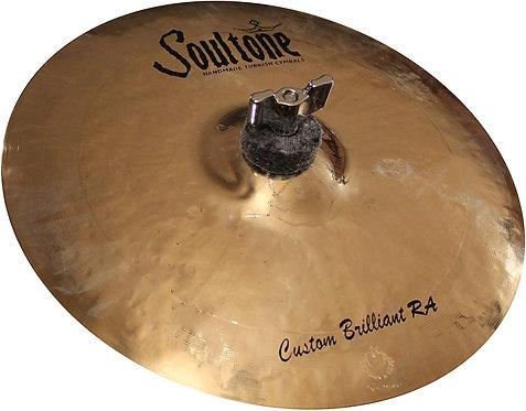 """Soultone Custom Brilliant RA Splash Cymbal-10"""" Top View"""