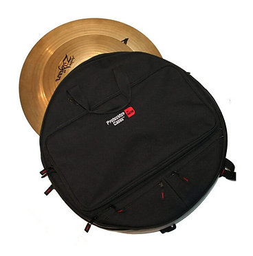 "Gator Cymbal Back Pack -Holds up to 6 Cymbals- Available in 22"" &  24"""