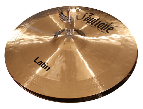 Soultone Latin High Hat Cymbals - Top View