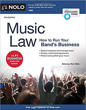 Music Law -Howto Run Your Band's Business