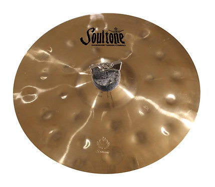 Soultone Heavy Hammered Splash Cymbal Top View