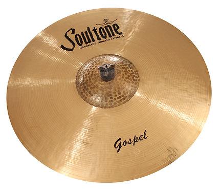 "Soultone Gospel Ride Cymbal  21"" - Top View Finish"