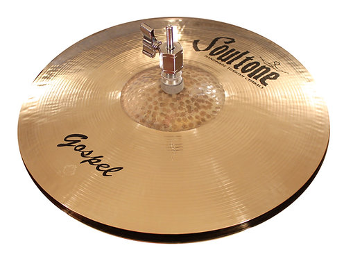 Soultone Gospel High-Hat Cymbals  - Top View