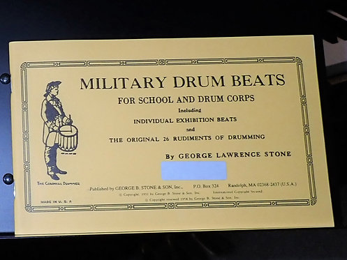 Military Drum Beats - Method Books Cover