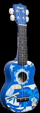DDUK2 - Blue Bird Ukulele - Soprano Size
