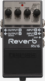 Boss RV-6 ReverbTop