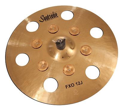 Soultone FXO 12J Cymbal Top View