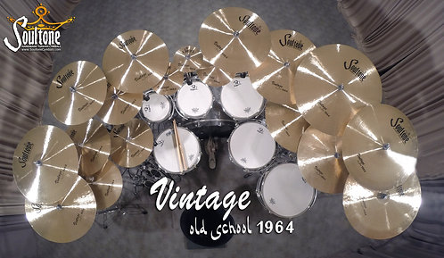 Soultone Vintage Old School 1964 Series Cymbals - All Sizes
