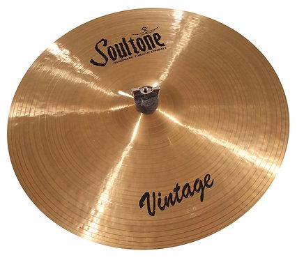 Soultone Vintage Crash Cymbal Top View