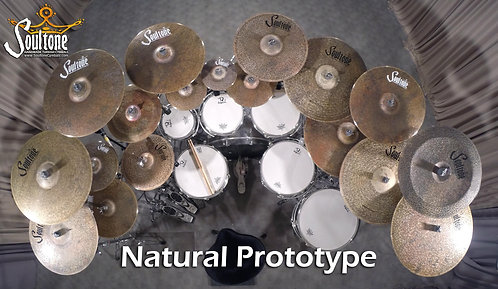 Soultone Natural Prototype Cymbals - All Sizes