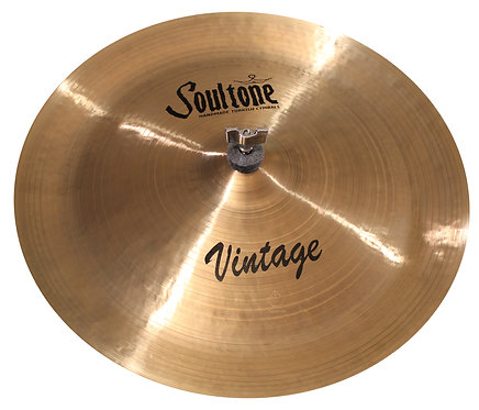 Soultone Vintage China Cymbal - Top View