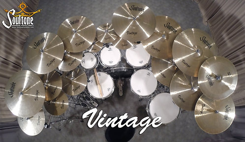 Soultone Vintage Series Cymbals - All Sizes