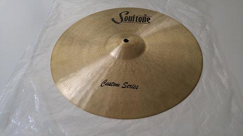 "Soultone Custom Brilliant Series Crash Cymbal 18"" -CBR-CRS18"