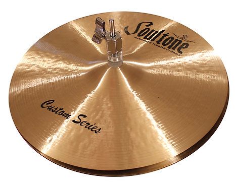Soultone High Hat Cymbals Custom Series - Top View