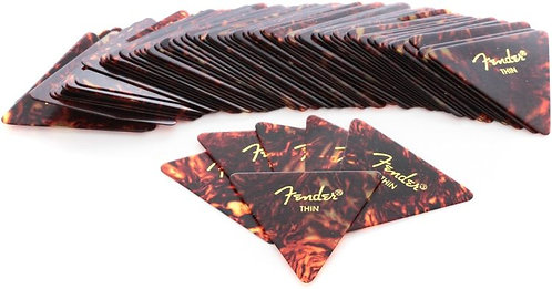 Fender 355 Guitar Pick Classic Celluloid-Thin-Group