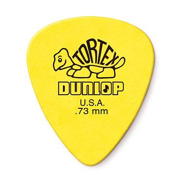 Dunlop 418R  Tortex Standard Guitar Pick 0.73 mm FrontView