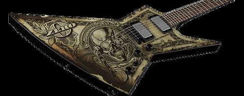 Dean Dave Mustaine Zero -In Deth We Trust - CloseUpVIewBody