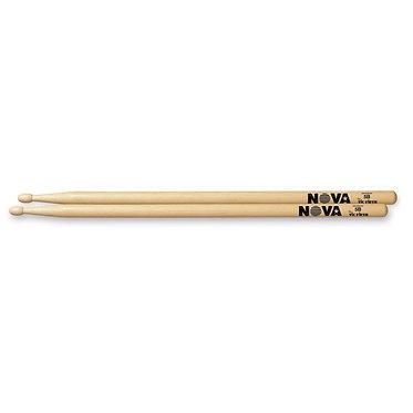 Vic Firth-Nova Hickory Drumstick- Wood Tip 5B