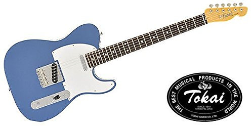 Tokai Vintage Series Electric Guitar-ATE 106B-OLB-FrontView1