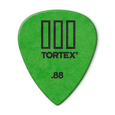 Dunlop 462R Tortex III Guitar Pick 88 mm FrontView