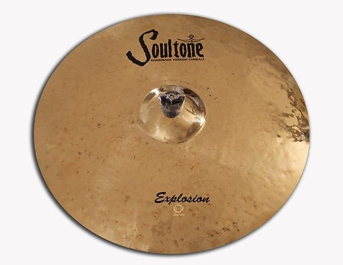 "Soultone Explosion Crash Cymbal - 16"" Top View"