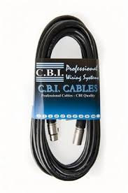 CBI Professional Instruments, Speaker Amps, Microphone & Pedal Cables