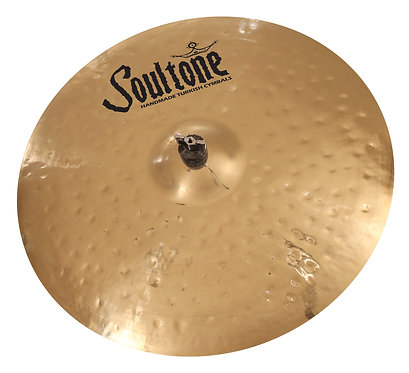 Soultone Heavy Hammered Ride Cymbal Top View