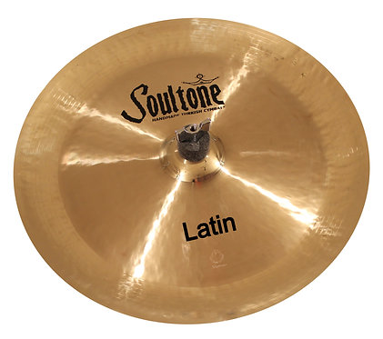 Soultone Latin Ride China Cymbals-Top View