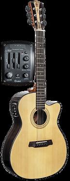 ASR26 Folk Guitar - Acoustic/Electric 4 Band EQ