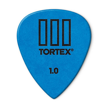 Dunlop 462R Tortex III Guitar Pick 1.10 mm FrontVIew