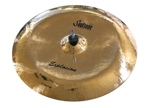 """Soultone Explosion Reverse Bell China Cymbal - 18"""" Top View"""