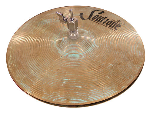 Soultone Patina High Hat Cymbals Top View