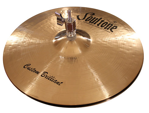 Soultone High-Hat Custom Brilliant Cymbals -High Hats Top View