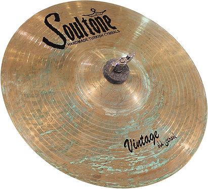 Soultone Vintage Old School Series - Splash Cymbal Patina Finish Top View