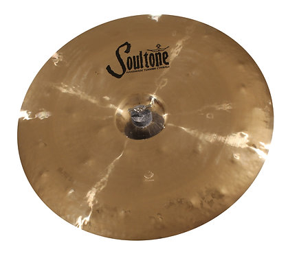 Soultone Heavy Hammered China Cymbals- Top View
