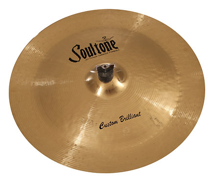 Soultone Custom Brilliant China -Crash Cymbal