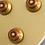 Epiphone Les Paul Standard Plain Top -Gold -Controls