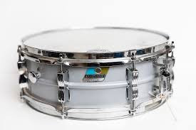 "Ludwig Acrolite Snare Aluminum 5""x14"" -Badge View"