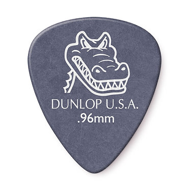 Dunlop Gator Grip Guitar Pick - 0.96 mm Front