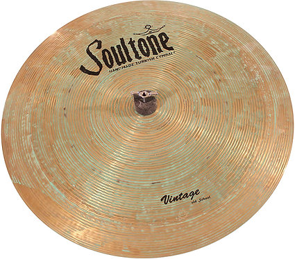 Soultone  Vintage Old School - Flat Ride Cymbal Patina Finish