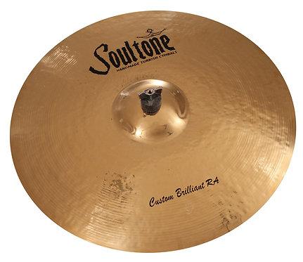 Soultone Custom Brilliant Ride Cymbal - Top View