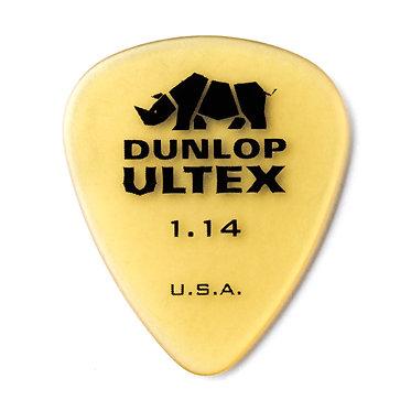 Dunlop 421R Ultex Standard Guitar Pick 1.14 mm FrontView