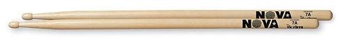 Vic Firth-Nova Hickory Drumstick- Wood Tip 7A