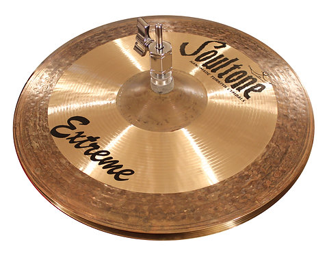 Soultone High Hat Cymbals - Extreme Series- Top View
